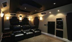 Sound proof room home theater