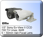 IR Night Vision Bullet Security Cameras