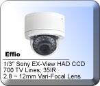 HD-Vandal IR Dome Security Camera