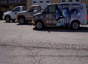 Eye Spy Electronics and More LLC Security Service Vehicles